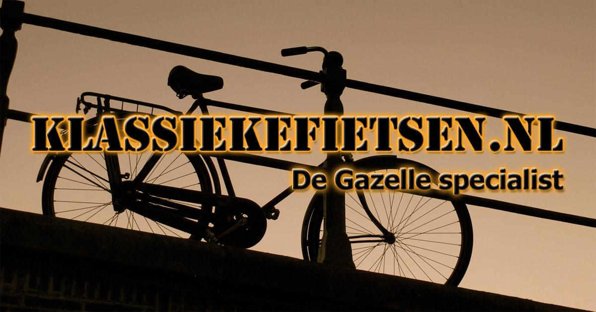 Verwonderlijk Klassiekefietsen.nl - De Gazelle specialist SP-95